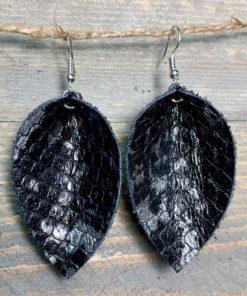 black_silver_snakeskin_leaf